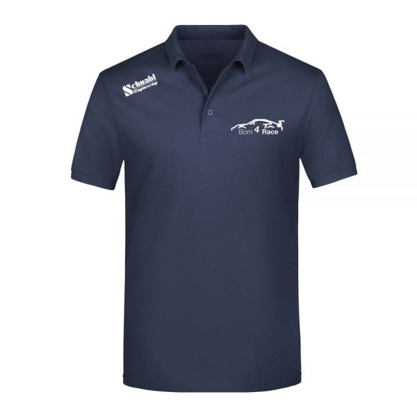 Polo Navy Weiss